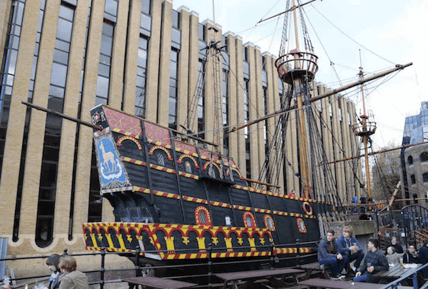 Golden Hind Ship