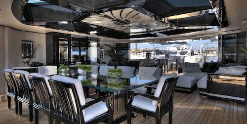 Lionheart Yacht Interior