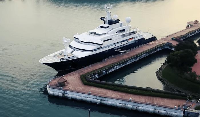 Octopus Yacht Docked