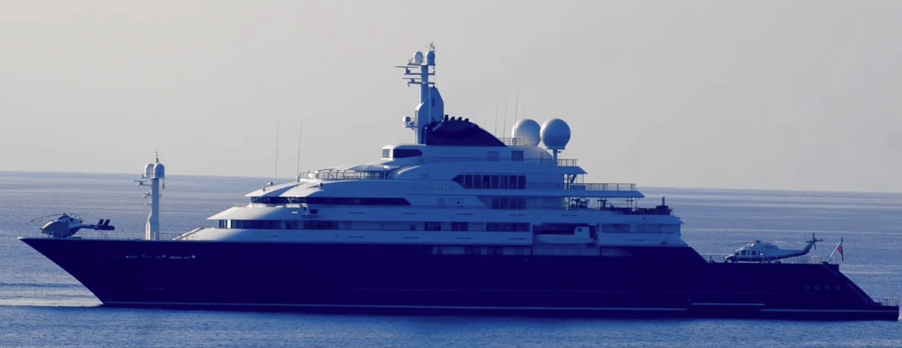 Octopus Yacht at Sea