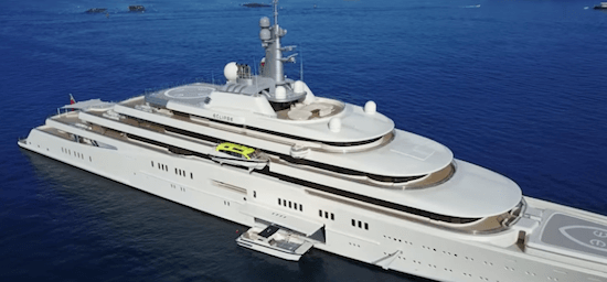Roman Abramovic Yacht