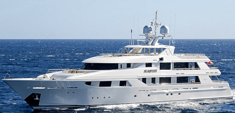 SeaQuest Yacht at Sea