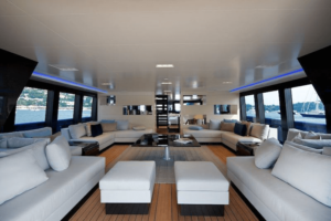 Steve Jobs Yacht Interior