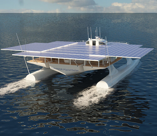 MS Turanor Solar-Powered Boat